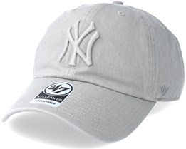 New York Yankees Clean Up Gray Adjustable - 47 Brand