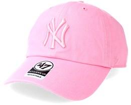 New York Yankees Clean Up Rose Adjustable - 47 Brand