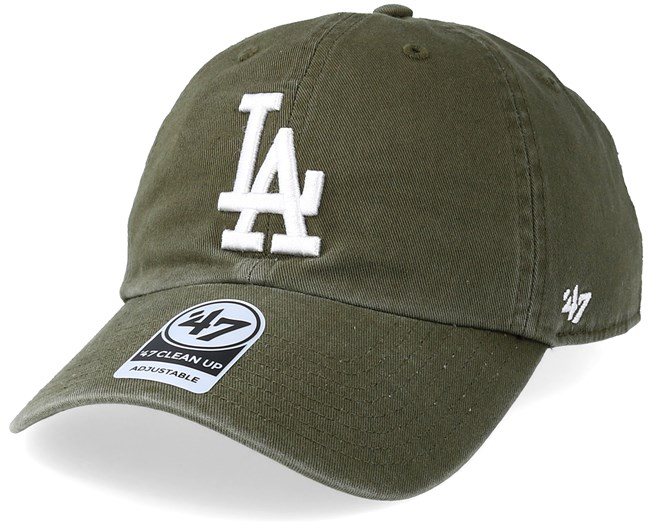 Los Angeles Dodgers Clean Up Sandalwood White Adjustable - 47 Brand ... f7f8cd7a757b
