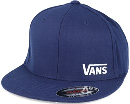 Splitz Dress Blue-White Fitted - Vans