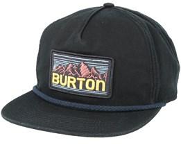 Buckweed True Black Snapback - Burton