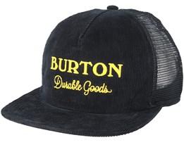 Durable True Black Trucker - Burton
