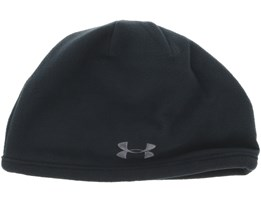 Survivor Fleece Black Beanie - Under Armour