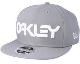 Mark II Novelty Stone Gray Snapback - Oakley