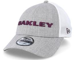 Heather New Era Hat Grey Adjustable - Oakley