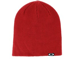 Backbone Iron Red Beanie - Oakley