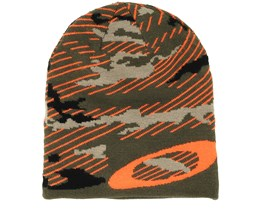 Mainline Warning Camo Beanie - Oakley