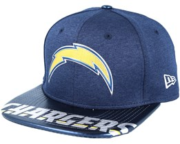 Los Angeles Chargers Draft 2017 9Fifty Navy Snapback - New Era