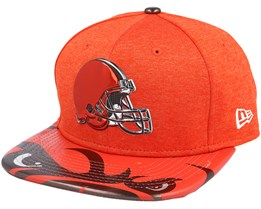 Cleveland Browns Draft 2017 9Fifty Red Snapback - New Era