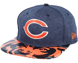 Chicago Bears Draft 2017 9Fifty Navy Snapback - New Era