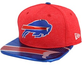 Buffalo Bills Draft 2017 9Fifty Red Snapback - New Era