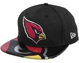 Arizona Cardinals Draft 2017 9Fifty Heather Black Snapback - New Era