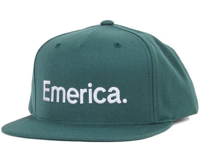 Pure Green Snapback - Emerica