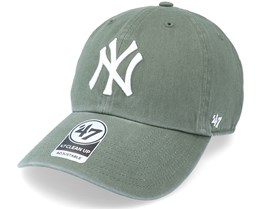 New York Yankees Clean Up Moss Green Adjustable - 47 Brand