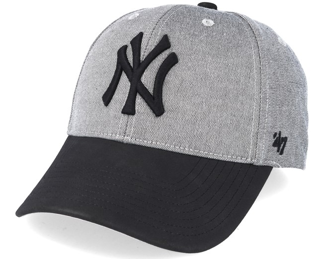 new style e2fa3 05a2c ... discount code for new york yankees all in mvp grey black adjustable 47  brand caps hatstore