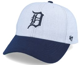 Detroit Tigers Munson Mvp Grey/navy Adjustable - 47 Brand