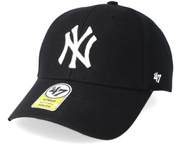 New York Yankees Youth Mvp Black Adjustable - 47 Brand