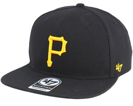 Pittsburgh Pirates No Shot Black Snapback - 47 Brand