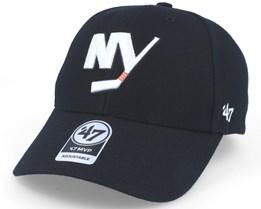 New York Islanders Mvp Black Adjustable - 47 Brand