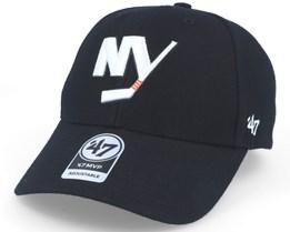 New York Islanders Mvp Black Adjustable - 47 Brand