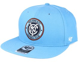 New York City Fc Columbia Blue Snapback - 47 Brand