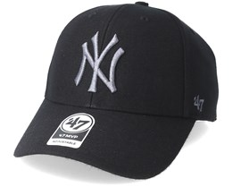 New York Yankees Mvp Black Adjustable - 47 Brand
