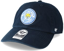 Leicester City Clean Up Navy Adjustable - 47 Brand