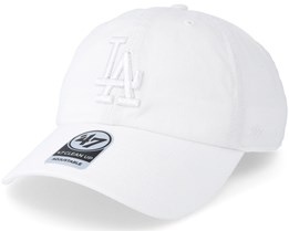 Los Angeles Dodgers Clean Up White Adjustable - 47 Brand