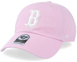 Boston Red Sox Clean Up Petal Pink Adjustable - 47 Brand