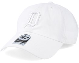 Detroit Tigers Clean Up White Adjustable - 47 Brand