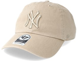 New York Yankees Clean Up Khaki/Khaki Adjustable - 47 Brand