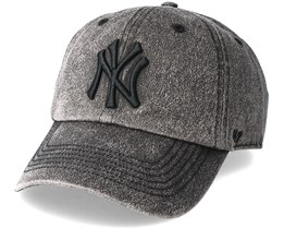 New York Yankees Caliper Clean Up Black Adjustable - 47 Brand