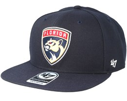 Florida Panthers Sure Shot Navy Snapback - 47 Brand