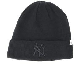 New York Yankees Raised Black Cuff - 47 Brand