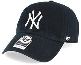 New York Yankees Metallic Black/Silver Loughlin Adjustable - 47 Brand
