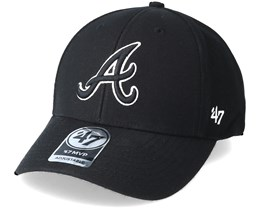 Atlanta Braves Mvp Black Adjustable - 47 Brand
