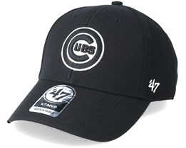 Chicago Cubs Mvp Black Adjustable - 47 Brand