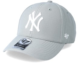 New York Yankees Mvp Grey Adjustable - 47 Brand