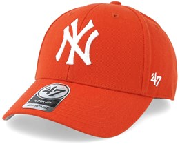 New York Yankees Mvp Orange Adjustable - 47 Brand