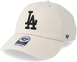 Los Angeles Dodgers Clean Up Natural Adjustable - 47 Brand