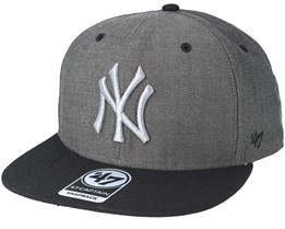 New York Yankees Double Move 47 Captain Gravel Snapback - 47 Brand