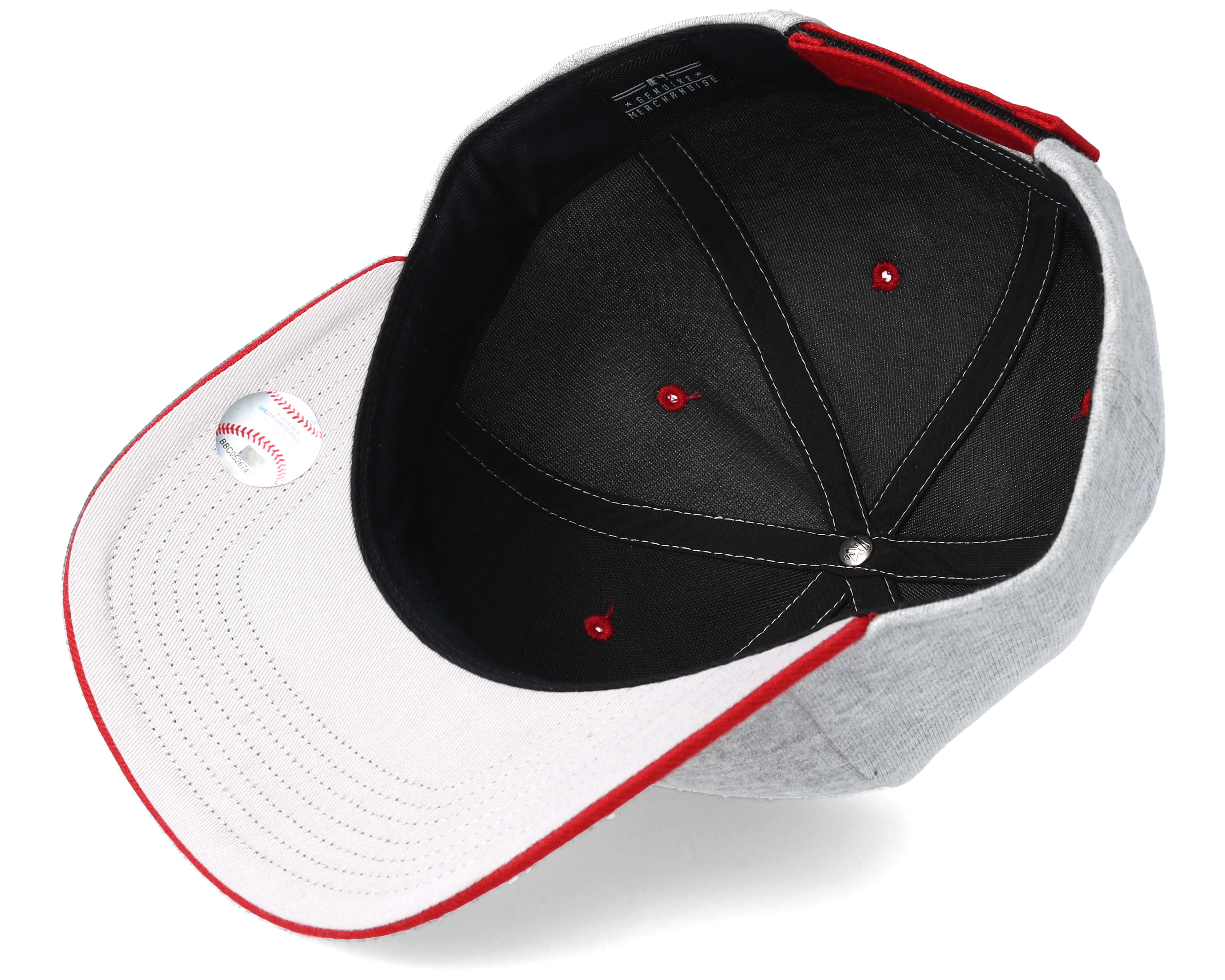 5e33f11d7ec94 ... where can i buy boston red sox outpost 47 mvp grey adjustable 47 brand  caps b791f