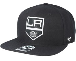 Los Angeles Kings Sure Shot Black Snapback - 47 Brand