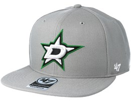 Dallas Stars Sure Shot Gray Snapback - 47 Brand