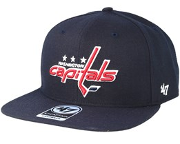 Washington Capitals Sure Shot Navy Snapback - 47 Brand