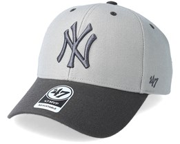New York Yankees Audible Two Tone Gray Adjustable - 47 Brand