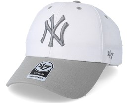 New York Yankees Audible Two Tone White Adjustable - 47 Brand
