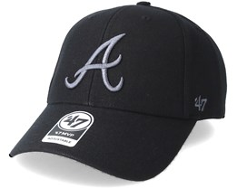 Atlanta Braves Braves Mvp Black Adjustalbe - 47 Brand