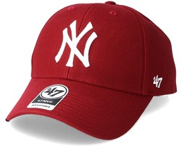 New York Yankees Mvp Cardinal Adjustable - 47 Brand