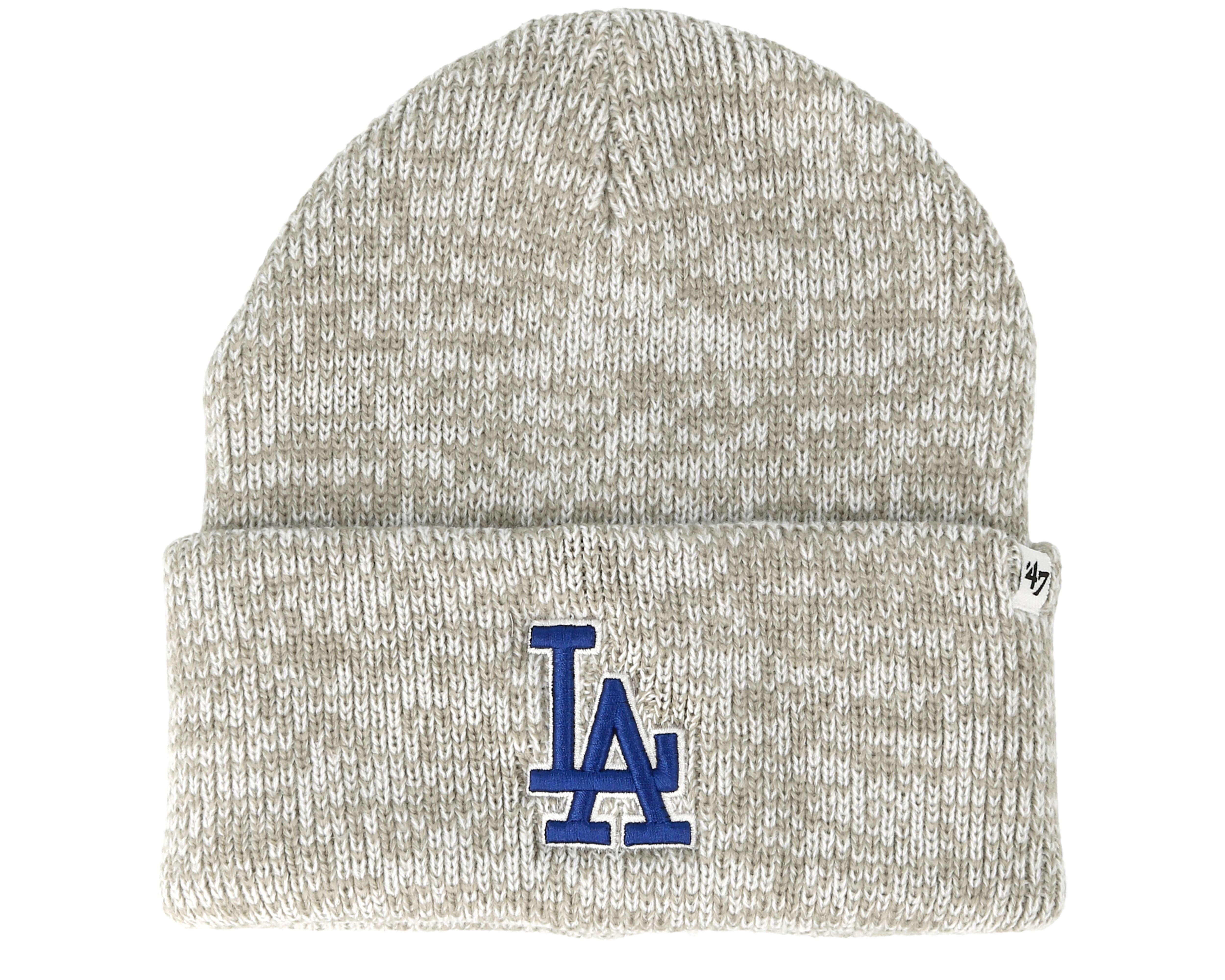 purchase cheap a9884 e1e52 Los Angeles Dodgers Brain Freeze Gray Cuff - 47 Brand mütze ...